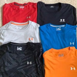 Under Armour bundle of 6 Tees!
